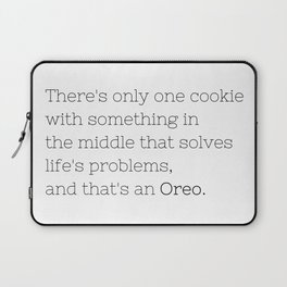 Oreo solves life's problems - TV Show Collection Laptop Sleeve