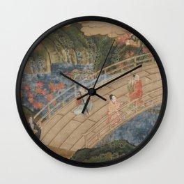 Japanese People's Life IV Wall Clock