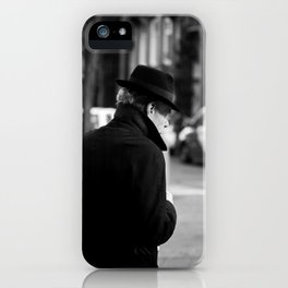 The Man in the Trench Coat iPhone Case