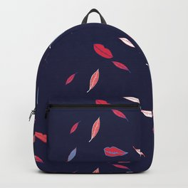 Lips & Leaves Backpack
