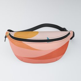 Abstraction_Sailing_Ocean_002 Fanny Pack