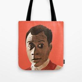 Portrait of James Baldwin Tote Bag
