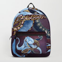 Metallic Octopus III Backpack