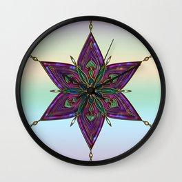 Crest of Kali Wall Clock