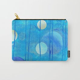 light blue sphere Carry-All Pouch