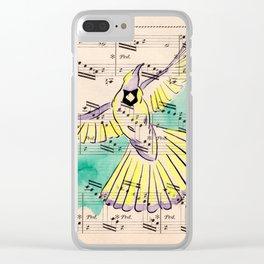 Mandolin Waltz Clear iPhone Case