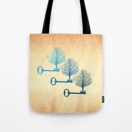 Tree Keys Tote Bag