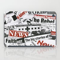 daenerys iPad Cases featuring News Branded by bimorecreative