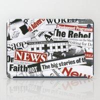 targaryen iPad Cases featuring News Branded by bimorecreative