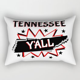 Tennessee State Y'all Rectangular Pillow