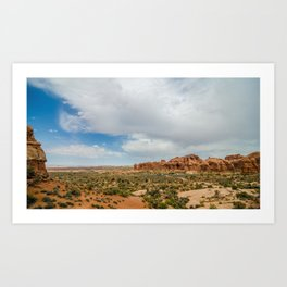 Parade of Elephants South - Arches National Park - Utah Art Print