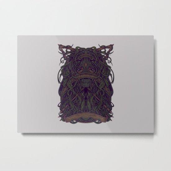 Eye Jungle Metal Print