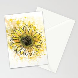 Sun/Flower Stationery Cards