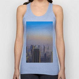 Dubaï, View All In Pink Burj Unisex Tank Top