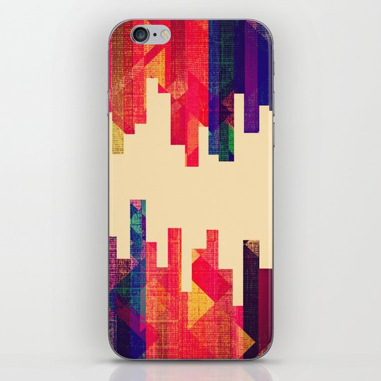 Night Visions: Textiles iPhone & iPod Skin