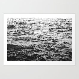 Across the Waves Art Print
