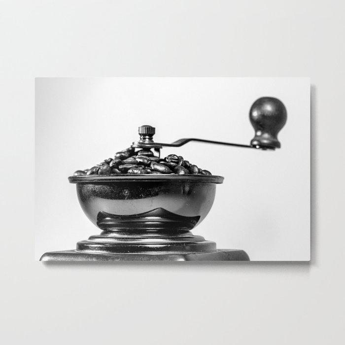 Coffee time/Kaffeezeit Metal Print