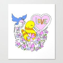 """Family Love"" Canvas Print"