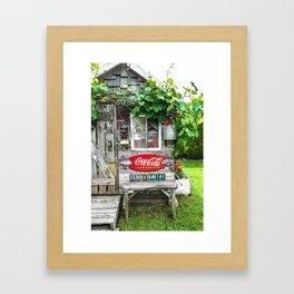 Summer Shed Framed Art Print