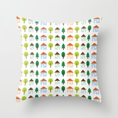 The Essential Patterns of Childhood - Home Throw Pillow