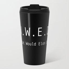What Would Elon Do? Travel Mug