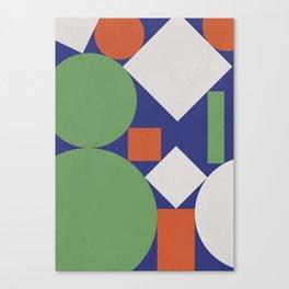 Geometry II Canvas Print