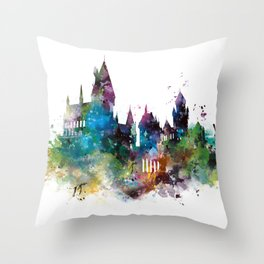 Hogwarts 2 Throw Pillow