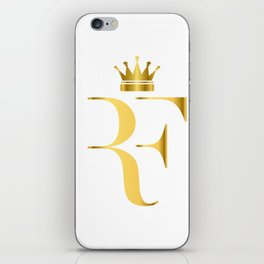 Roger Federer The King of Tennis iPhone Skin