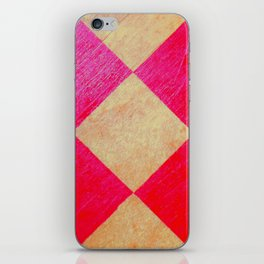 Vibrant Checkmate iPhone Skin