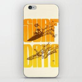 Surf Days iPhone Skin