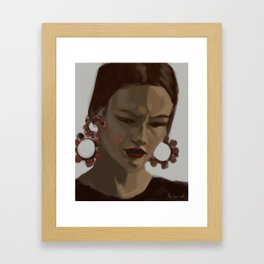 Carmen Framed Art Print