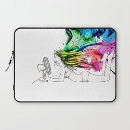 #16 - ventilatore (colore) Laptop Sleeve