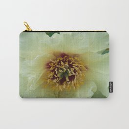 Yellow Tree Peony by Teresa Thompson Carry-All Pouch