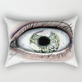 Macro Eye Rectangular Pillow