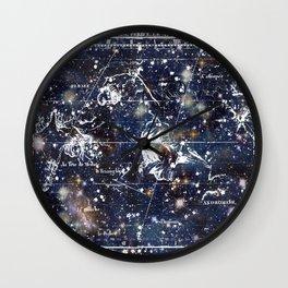 Celestial Charts Wall Clock
