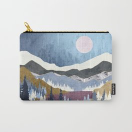 Blueberry Sky Carry-All Pouch