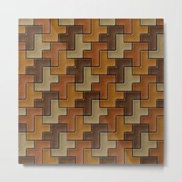 Geometrix XXX Metal Print