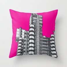 London Town - Lloyds of London Throw Pillow