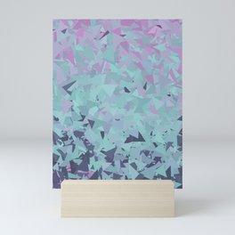 Blue, Teal, and Purple Mini Art Print