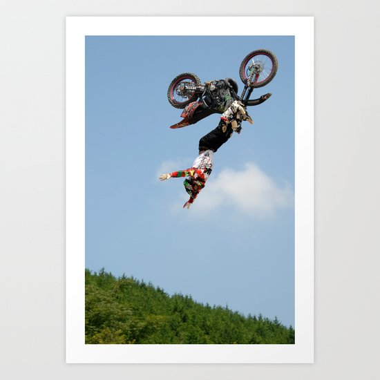 Eigo Sato Cliffhanger, FMX Japan Art Print