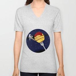 Space Spaghetti Unisex V-Neck