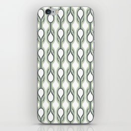 Retro-Delight - Double Drops - Mint iPhone Skin