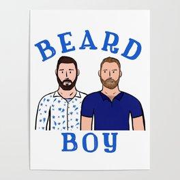 Beard Boy: Karl & Thomas Poster