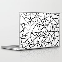 dots Laptop & iPad Skins featuring Dots by Project M