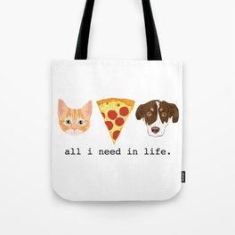 The Pizza Pets Tote Bag