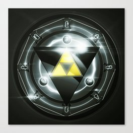 Light Of Zelda Canvas Print