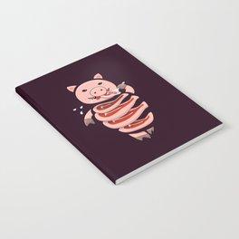 Gluttonous Cannibal Pig Notebook