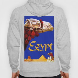 Vintage Egypt Camel Travel Hoody