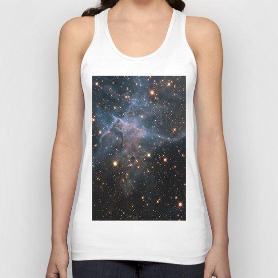 Mystic Mountain Nebula Unisex Tank Top