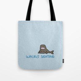 Walrus Sighting Tote Bag